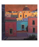 Guanajuato Color Giclee Print by Rick Kersten