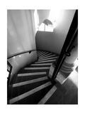 Stairs Mono Photographic Print by John Gusky