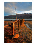 JE-08A Mountain Jetty Photographic Print by Luke Kneale