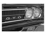 Pontiac Gto Photographic Print by Jennifer Norland