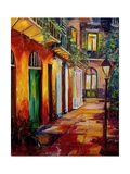 Pirates Alley By Night Reproduction procédé giclée par Diane Millsap
