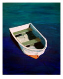 One Boat Giclee Print by Brittney Peace