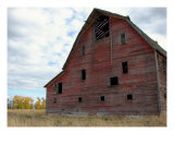 The Old Red Barn Photographic Print by kathy weller