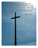 Bible Verse Motivational John Photographic Print by James Davidson