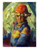 The Tibetan Boy Giclee Print by Ellen Dreibelbis