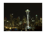 Seattle Skyline Photographic Print by John Gusky