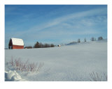 Distant Barn Photographic Print by Gene Cyr