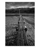 JE-07A Mountain Jetty Photographic Print by Luke Kneale