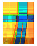 08098 Das Kreuz - The Cross Heute 01 Giclee Print by andreas kovar