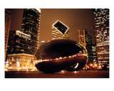 The Bean At Night 2 Photographic Print by Renette Coachman