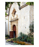 Church Door at Mission San Carlos Photographic Print by Lorrie Morrison