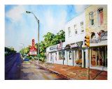 Soco South Congress In Austin Giclee Print by Billie Harkrider