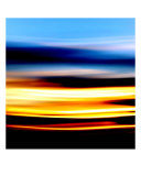 Sunshine Light Paint Photographic Print by Gudni Einarsson