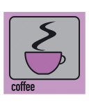 Coffee Purple Photographic Print by Micheline Kanzy