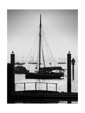 Sausalito Sailboat Photographic Print by John Gusky