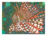 Lion Fish Giclee Print by Annette Maggio