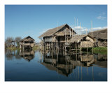 Inle Lake - 7D1283 Photographic Print by Peter Zurek