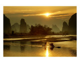 Beauty Spot:Guilin Stampa fotografica di James Saenz