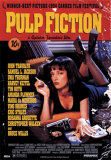 Pulp Fiction  Cover with Uma Thurman Movie Poster Prints