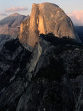 Sunset Striking Half Dome Photographic Print by Randy Olson