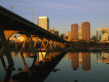 The Richmond, Virginia Skyline at Twilight Fotografie-Druck von Medford Taylor