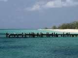 An Old Pier on Grand Turk Island Photographic Print by Wolcott Henry