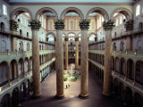 National Building Museum Interior Photographic Print by Sisse Brimberg
