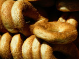 Sesame Seed Bagels Photographic Print by Richard Nowitz