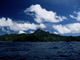 Scenic View of American Samoa Photographic Print by Wolcott Henry
