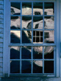 Reflections on the Panes of a Weathered Window Photographic Print by Sam Abell
