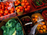 Farm Produce at a Local Farmers Market Photographic Print by Raymond Gehman