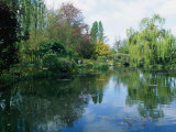 Giverny Gardens Fotografisk tryk af Nicole Duplaix
