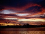 A Solomon Islands Sunset Photographic Print by Wolcott Henry