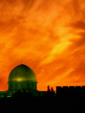 The Dome of the Rock at Sunset Photographic Print by Richard Nowitz