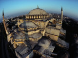 Side Domes and Added Minarets Gather About the Great Vault of Hagia Sophia Photographic Print by James L. Stanfield