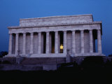 A View of the Lincoln Memorial at Dawn Photographic Print by Stephen St. John