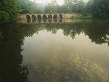A Stone Bridge Built by the Civilian Conservation Corps Stands Photographic Print by Stephen Alvarez