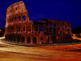 Night View of the Colosseum Photographic Print by Winfield Parks