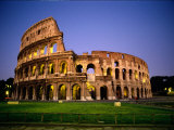 Colosseum at Dusk Lámina fotográfica por Nowitz, Richard