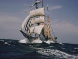 Joseph Baylor Roberts - A Ship under Full Sail Fotografická reprodukce