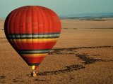 Balloon Safari over Masai Mara National Park Fotografie-Druck von Medford Taylor