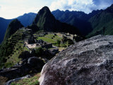View of the Inca City of Machu Picchu Photographic Print by Pablo Corral Vega