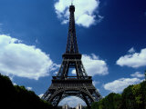 A Scenic View of the Eiffel Tower Photographic Print by Todd Gipstein