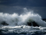 Storm Surf on the Gulf of St. Lawrence Stampa fotografica di Gehman, Raymond