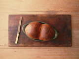 Bread Laid out on a Simple Table Setting Photographic Print by Sam Abell
