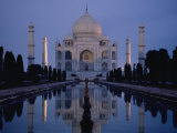 Taj Mahal at Sunrise, Agra, India Photographic Print by Michael S. Lewis