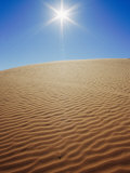 The Sun Beats Down on a Sand Dune Photographic Print by Jason Edwards