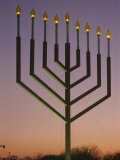 National Menorah, Elipse, Washington, D.C. Photographic Print by Richard Nowitz