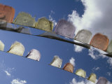 Prayer Flags Flying in Bhutan Photographic Print by Michael Melford