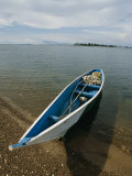 A Fishing Boat Beached on Kimii Island, in Lake Victoria Photographic Print by Michael S. Lewis